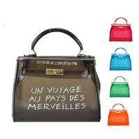 Прозрачная сумочка, Прозрачная женская сумка на плечо, конфетные женские сумки, роскошные женские сумки, дизайнерские сумки кросс-боди 2019
