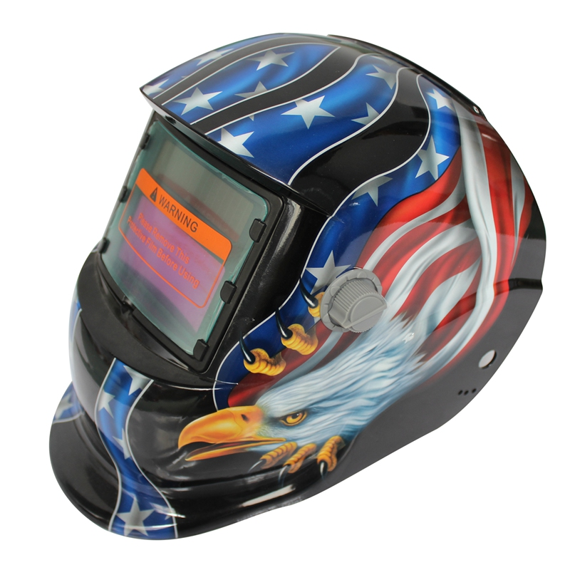 2018 New Pro Solar Welder Mask Auto Darkening Welding Helmet Pattern Eagle|  - title=