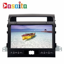 Dasaita 10.2″ Android 7.1 Car GPS Player Navi for Toyota Land Cruiser LC200 2008-2013 with 2G+16G Quad Core Stereo Autoradio 4G