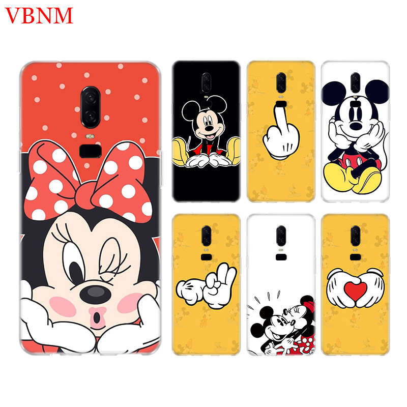 Mickey Mouse Funny New Phone Back Case For font b OnePlus b font font b 7