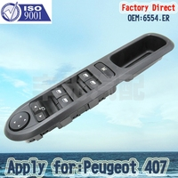 Factory Direct 6554ER Auto Front Left Side Electric Master Window Switch 6554 ER Apply For Apply