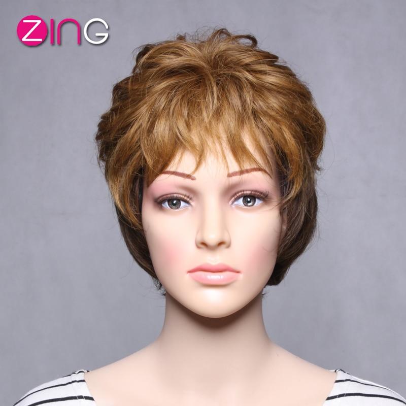 zing hair ombre wig dark brown