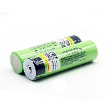 18650 Batería Protegida | 2019 Nuevo 30 Piezas Originales LiitoKala 18650 De 3400 MAh 3,7 V Recargable De Li-Ion De La Batería Protegida 18650B 18650, 3400