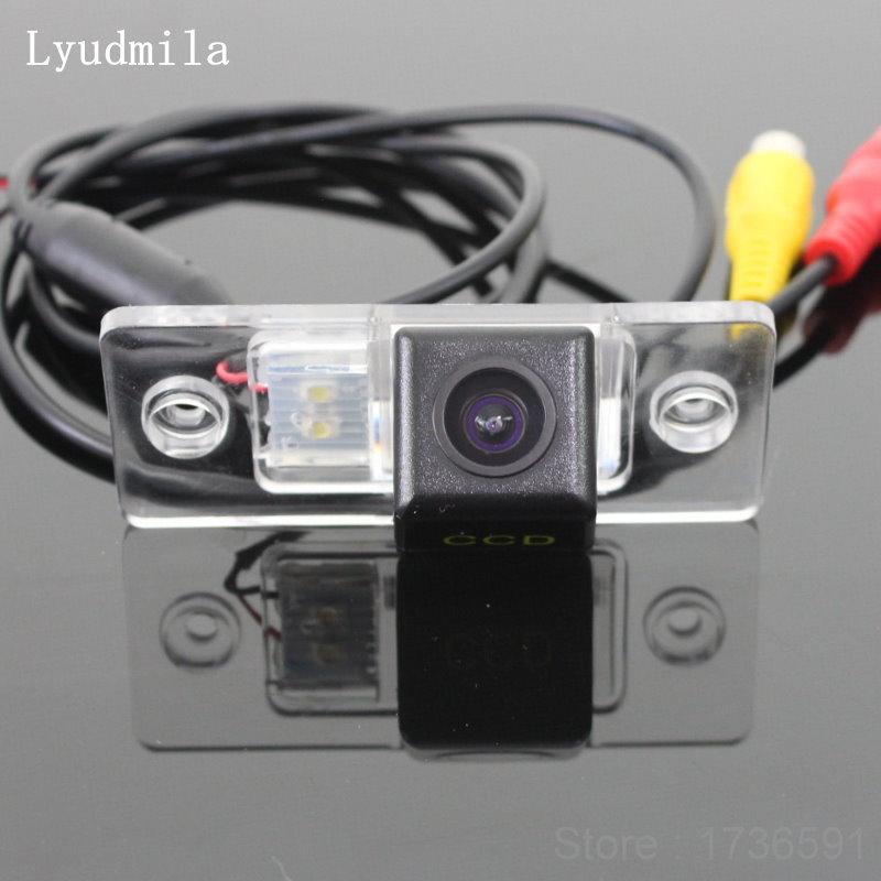 Lyudmila FOR Volkswagen VW Touran / Golf Touran 2003~2010 / Rear View Camera / BACK UP Reverse Camera / HD CCD Night Vision
