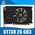 Новый nVIDIA видеокарта GT730 2 ГБ DDR5 128BIT 810/3000 MHz DVI/VGA/HDMI