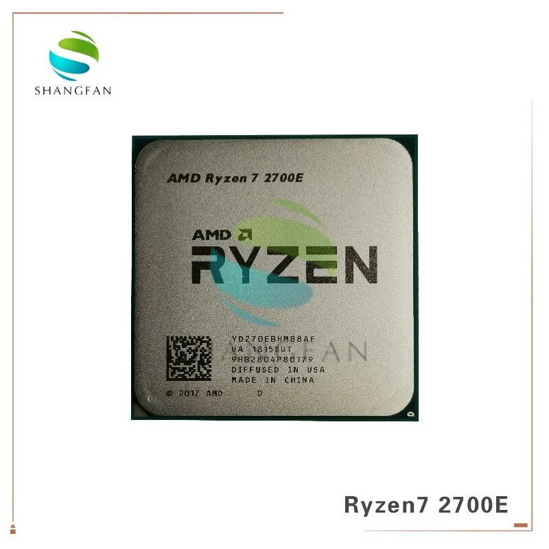 AMD R7 2700 Series Ryzen 7 2700E R7 2700E 2.8GHz Eight-Core Sinteen-Thread 16M 45W CPU Processor YD270EBHM88AF Socket AM4
