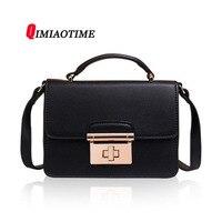 2018 Trend of The New Flip Handbag Japan and South Korea Fashion Handbag High end Leather Shoulder Messenger Handbag Women Bag