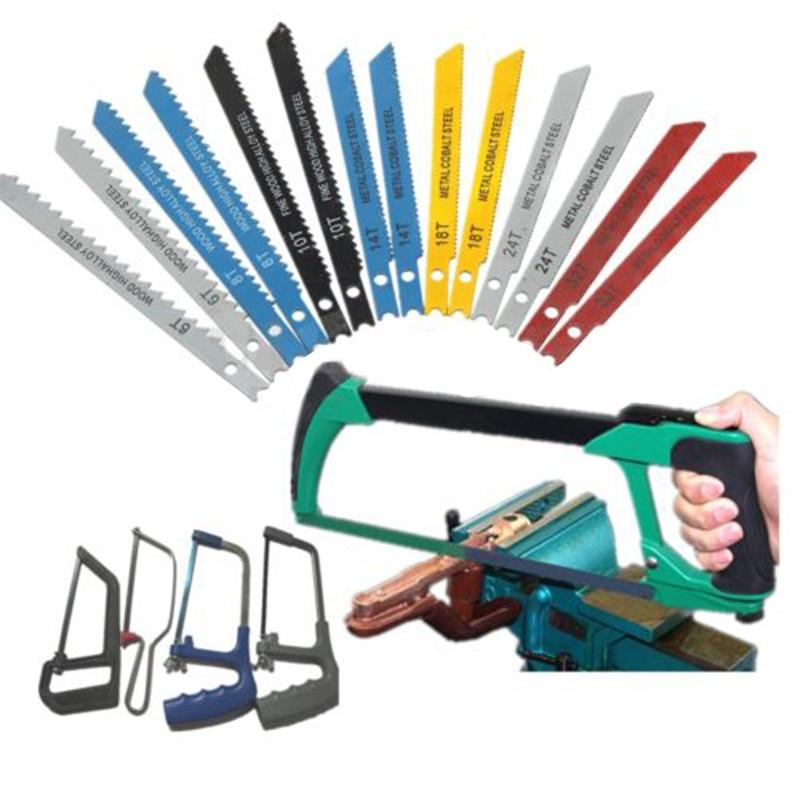 14pcs Assorted U Fitting Jigsaw Blades Set Metal Plastic Wood For Black & Decker
