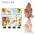 LAIKOU 4pcs Tender Hand Cream Hand Care Antibacterial Anti-chapping Whitening Nourishing Anti-Aging Skin Care Cream