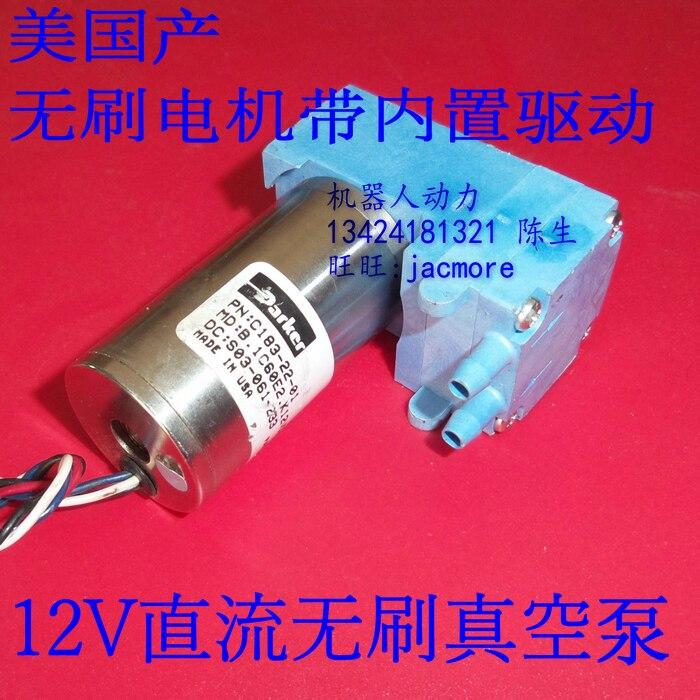 second hand Used Pump mini / micro-pump diaphragm pump brushless DC 12V C183-22-01