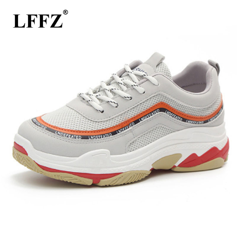 LFFZ 2018 Breathable Mesh Women Casual Shoes Vulcanize Female ins Fashion Sneakers Lace Up Soft High Leisure Footwears ZLL133LFFZ 2018 Breathable Mesh Women Casual Shoes Vulcanize Female ins Fashion Sneakers Lace Up Soft High Leisure Footwears ZLL133