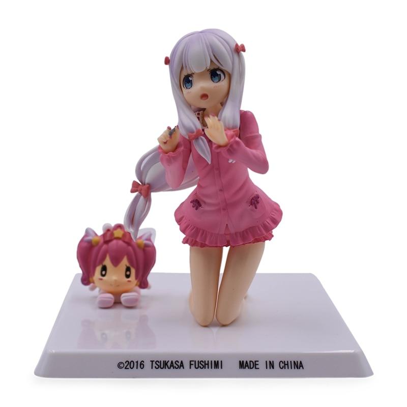 12cm Eromanga Sensei Sagiri Izumi Scale Painted Sweet PVC Figure Anime Collectible Model Doll Toy