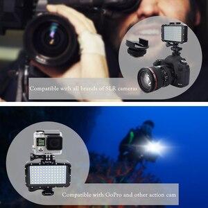 Image 4 - GoPro 8 Ultra Luminoso 1800LM Photo Studio Video Lampada Della Luce 3 Modalità di 5500K LED di Immersione Subacquea Fill in Luce per GoPro Xiaomi Yi SJCAM Macchina Fotografica