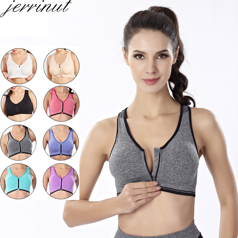 Jerrinut Seamless Bra Push Up Bralette Bras For Women Plus Size Bra Lingerie Wireless Sleep Underwear Sports Active Women Bra
