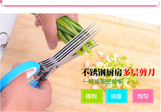 New creative kitchen multifunction scissors cut onion knife cut onion device onion Stainless steel grater shredder delsey extendo iii 620803 page 2