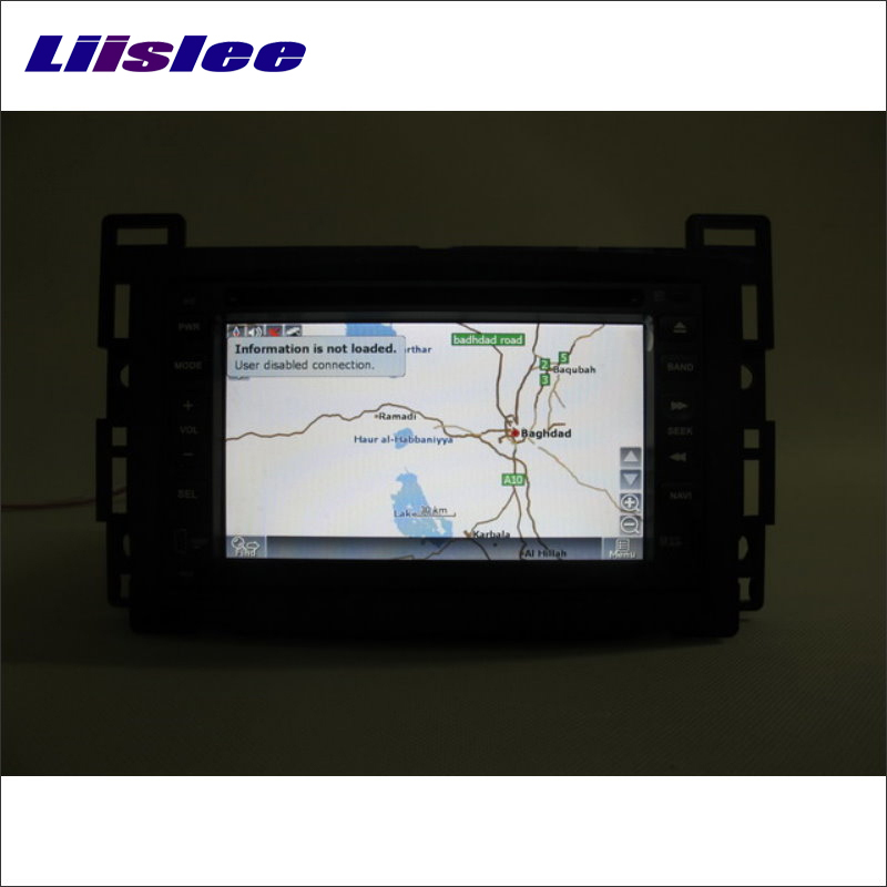Liislee For Saturn SKY / For Opel GT/ For Daewoo G2X Radio CD DVD Player GPS Navigation System Double Din Audio Installation Set