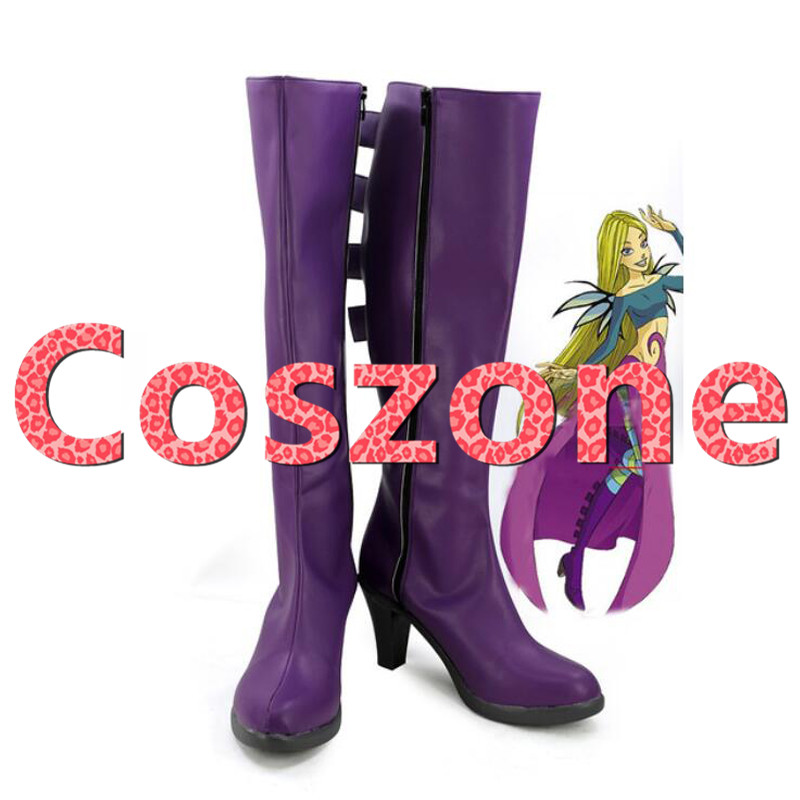 W.i.t.c.h Witch Cornelia Hale Cosplay Shoes Boots Halloween Carnival Cosplay Costume Accessories