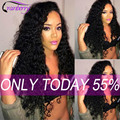 Indian Curly Virgin Hair 4 Bundles Indian Virgin Hair Deep Wave Raw Indian Hair Indian Deep Curly Weave Tissage Bresilienne Lots