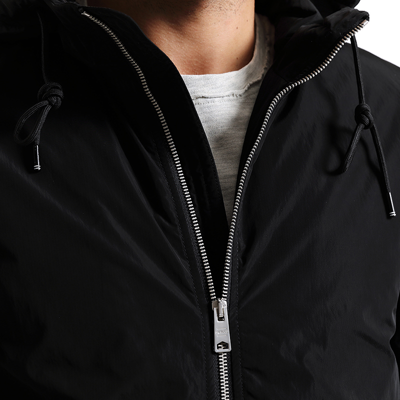 SIMWOOD New 2019 Winter Men Outerwear Plus Size Polyester Thin Fashion Mens Jacket parka Spring Casual Black Warm Coat MC017003-in Parkas from Men's Clothing    2