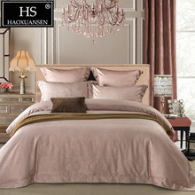 Luxury 650TC Paisley Jacquard Bedding Set Egyptian Cotton Yarn Dyed Fabric Sheets Duvet Cover Pillowcase Villa Queen King Size
