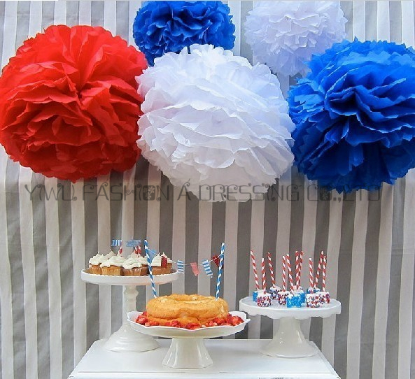 29 colors avilable giant tissue paper flowers ball garland giant tissue paper flowers ball garland decoration 18inch45cm 5piecelot diy paper pom poms party in artificial dried flowers from home garden on mightylinksfo