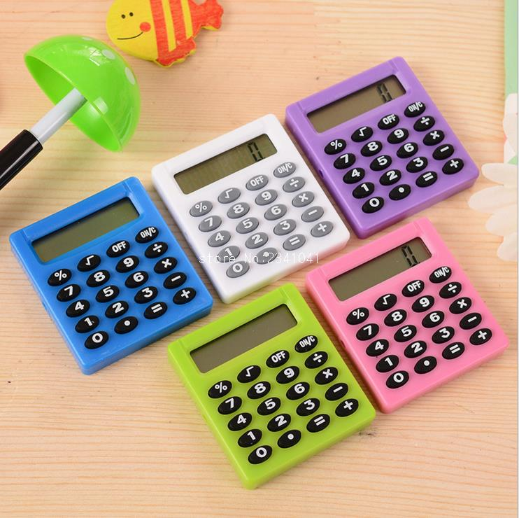 Korea boutique stationery small square calculator for Tiny house estimator