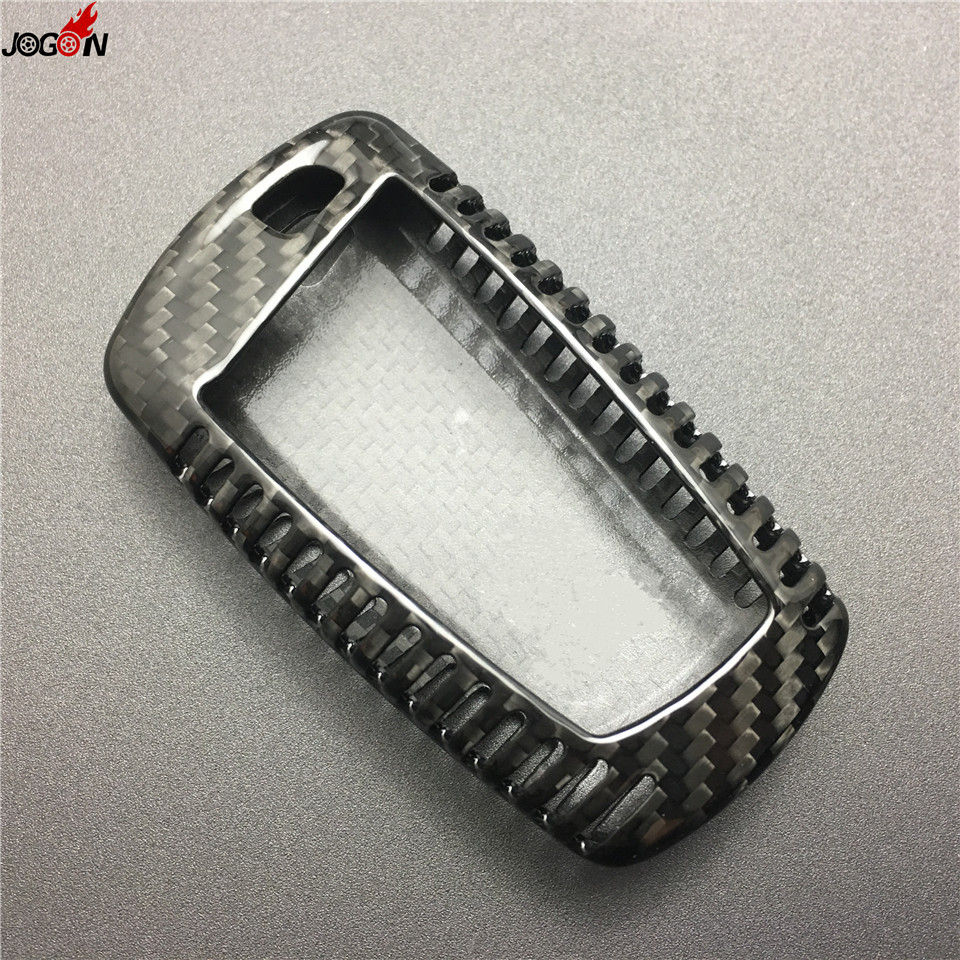 Carbon Fiber Remote Key Case Key Fob Cover Shell Trim For BMW 1 3 5 7