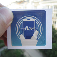 10pcs RFID Tag NTAG203 NFC Stickers For All NFC Android Cell Phone Free Shipping