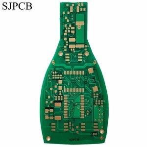 Image 2 - SJPCB пивная бутылка, специальная форма, печатная плата, производитель, погружение золото, индивидуальный контур, печатная плата, игрушка или электроника для украшения