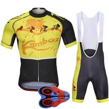 Cycling 2018 Bike Clothing Men Cycling Jersey Shorts Sets Cycling Clothes Ciclismo MTB Bike Bicycle Breathable Shorts Clothing цена