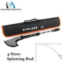 Maximumcatch Top Grade 2 4M 8 Stalker Telescopic Freshwater Fishing Rod Lure Weight 10 30g Spinning