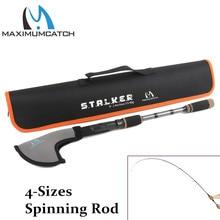 Maximumcatch Top Grade 2.1M/2.4M Stalker Telescopic Freshwater Fishing Rod Lure weight 10-30g/15-40g Spinning Fishing Rod