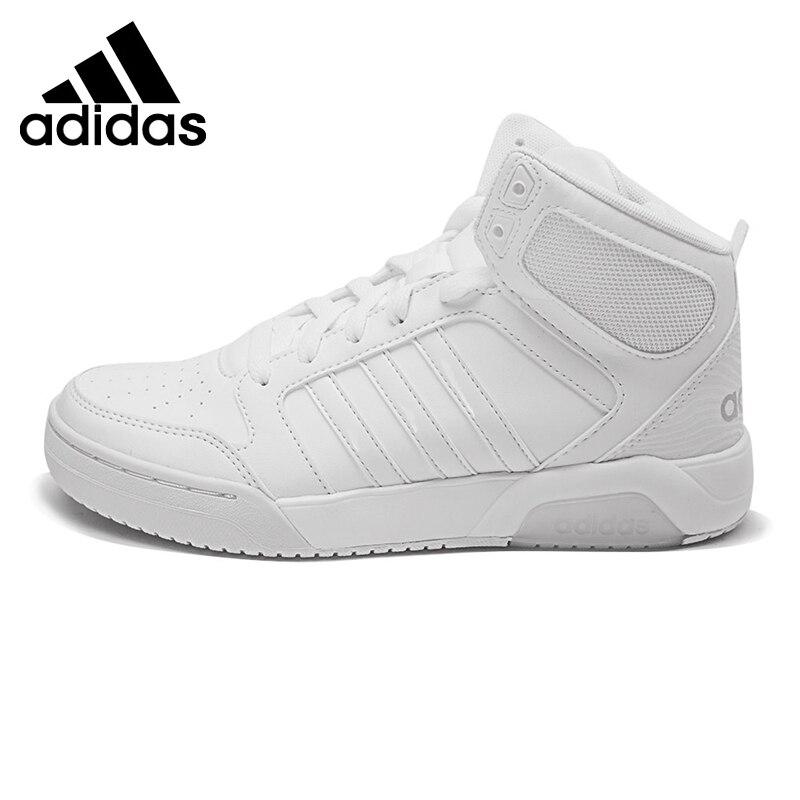 f12d965890174d Original Nouvelle Arrivée Adidas NEO BB9TIS Femmes de Haute Top Planche À  Roulettes Chaussures Sneakers