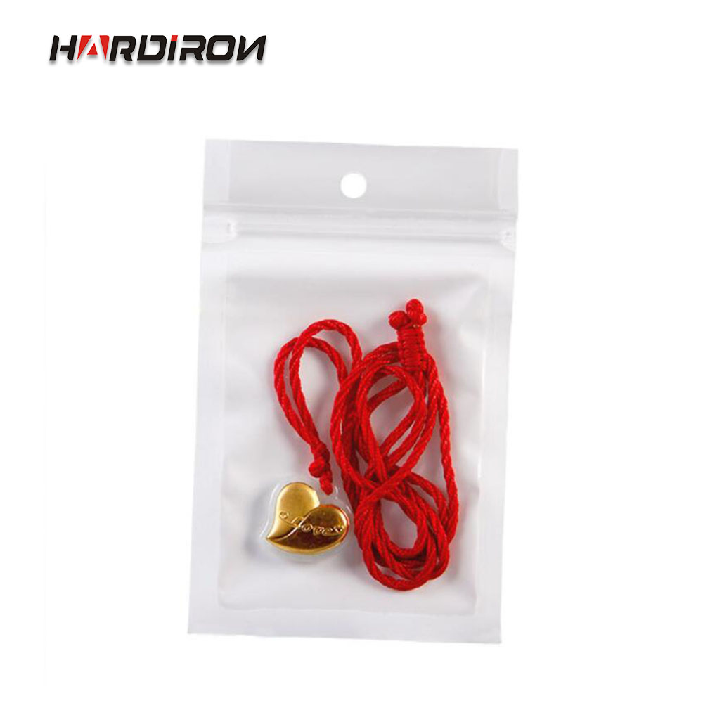 0 16mm White Clear Self Seal Zipper Plastic Retail Packaging Poly Pouches Ziplock Zip Lock Bags Package With Hang Hole in Storage Bags from Home Garden
