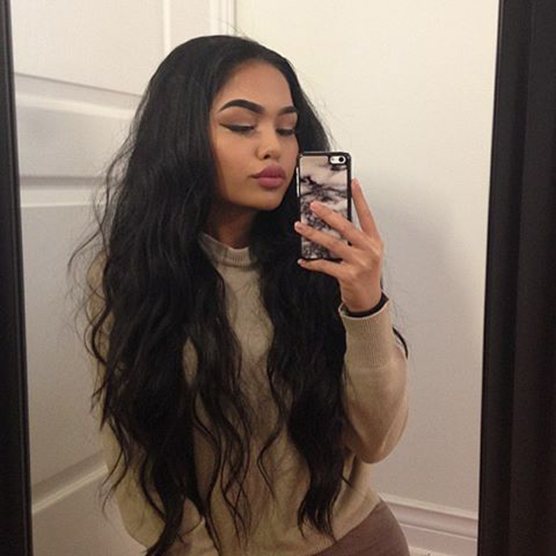 New Free Part Natural Looking Glueless Full Lace Wigs