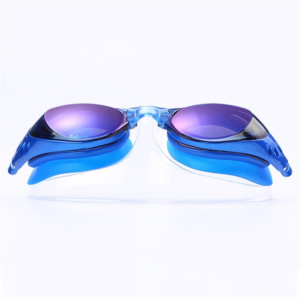 Adult Prescription Optical Myopia Swimming Goggles Anti-Fog Coated Water Diopter Swimming Eyewear 9