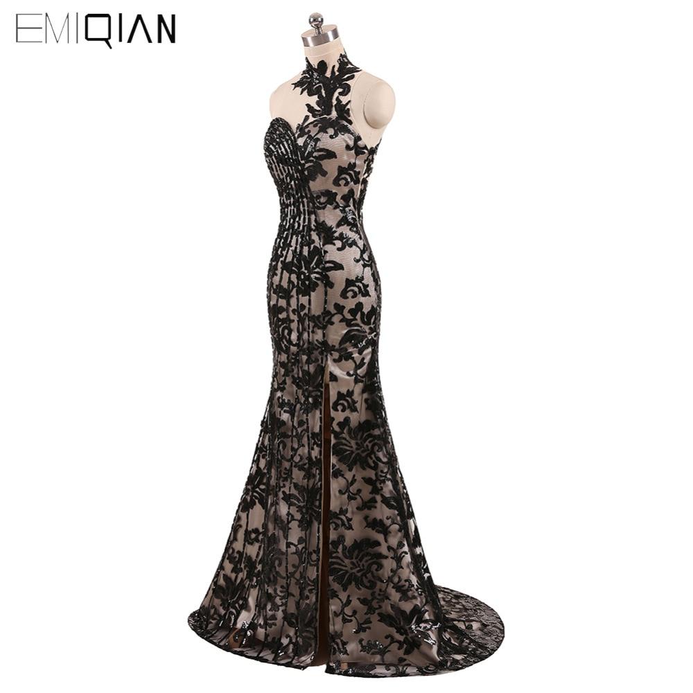 Freeshipping εκπληκτική φόρεμα βράδυ μαύρο - Ειδικές φορέματα περίπτωσης - Φωτογραφία 2