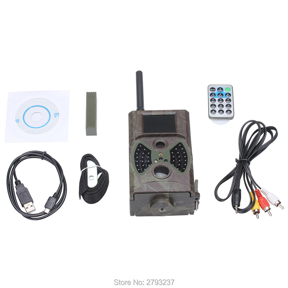 SMS controled Wireless 12MP hunting trail camera HC300MSMS controled Wireless 12MP hunting trail camera HC300M