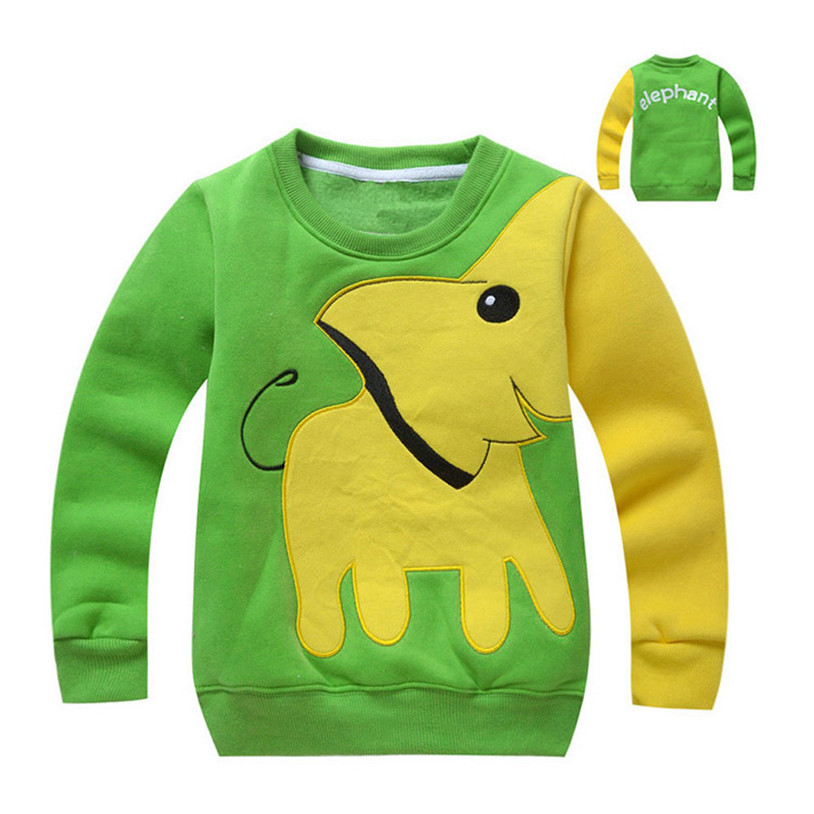 TELOTUNY Hoodies thick warm winter boys clothes Long Sleeve children clothing a802 14