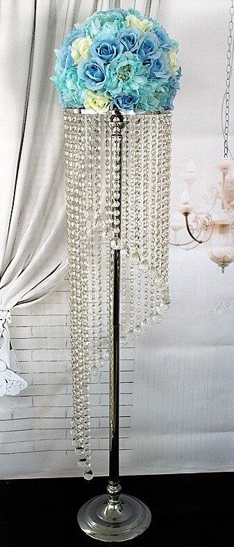 Doprava zdarma akrylový křišťál svatební olovo cesta Vysoký 120cm x D25cm svatba