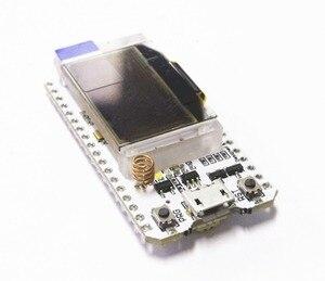 Image 3 - 2 pcs 868 mhz 915 mhz sx1276 esp32 lora 0.96 인치 블루 oled 디스플레이 블루투스 wifi lora 키트 32 v2 개발 보드 arduino 용