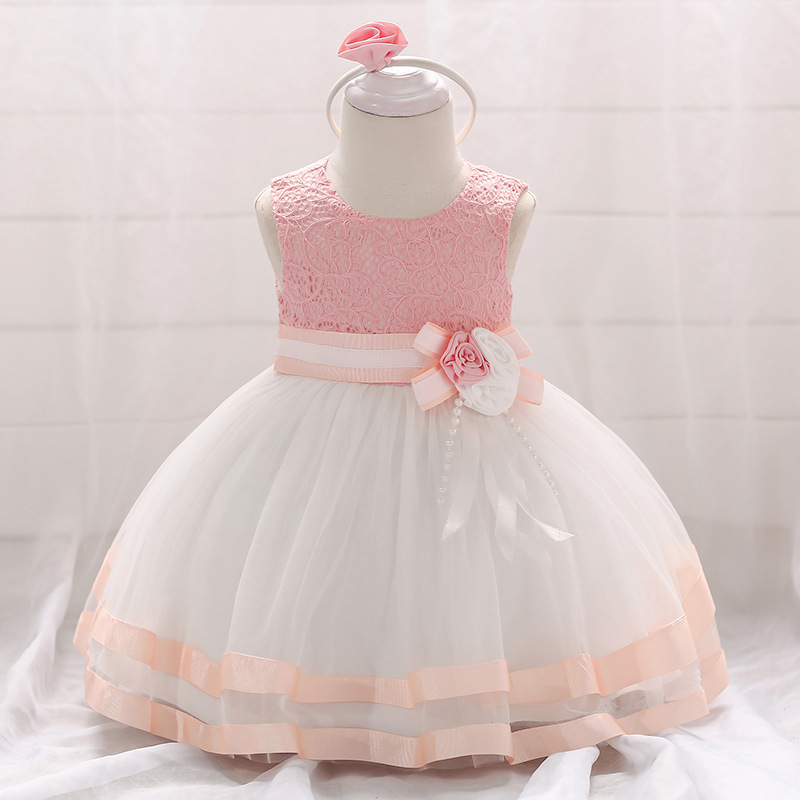 1st Birthday Princess Dress.Us 11 95 36 Off 2019 Summer Baby Girls Dress For Girls Princess Dress Infant Wedding First Birthday Girl Party Dress Clothes Clothing 6 12 Month In