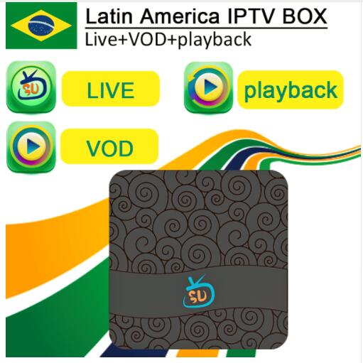 US $116 88 |[Genuine]Gotv iptv Brasil Latino america iptv box  Live+VOD+Playback with most popular channels with 2years free service-in  Set-top Boxes