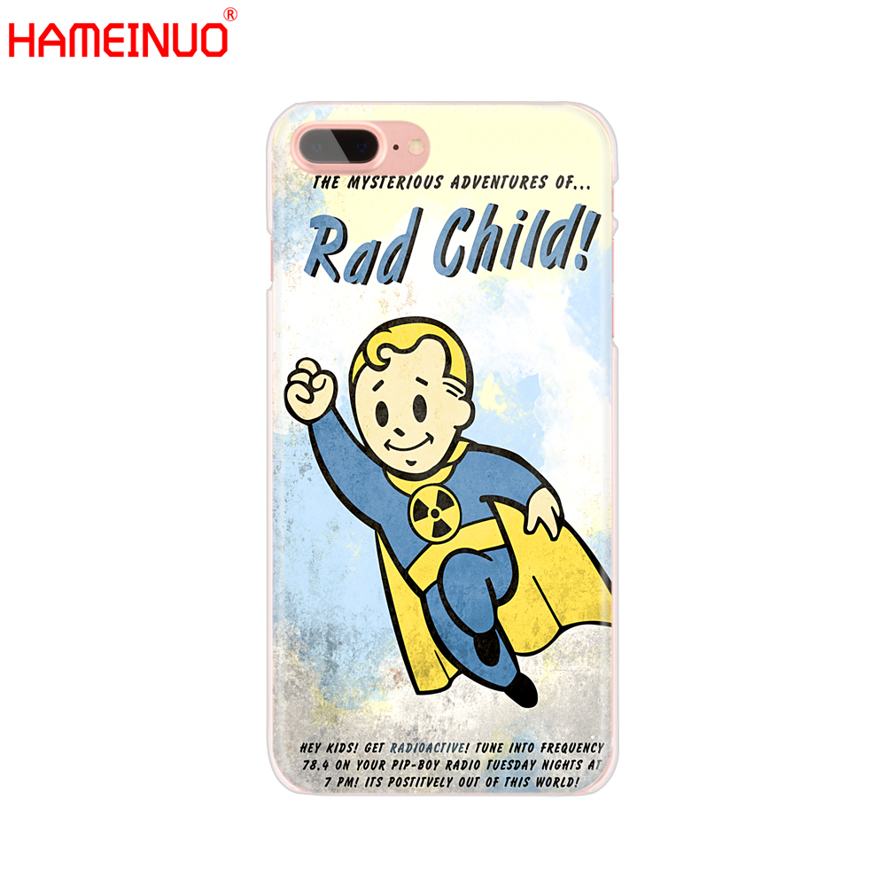 Fallout Phone Case for iPhone X 8 7 6 4 4s 5 5s SE 5c 6s plus