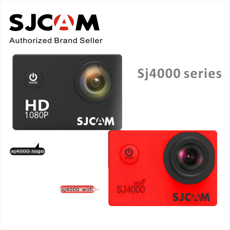 sjcam sj5000 plus ambarella a7ls75 sport camera SJCAM SJ4000 Series SJ4000 2 inch& SJ4000 WIFI 2 inch & SJ4000 Plus action Camera sport Waterproof Camera full HD1080P Sport DV