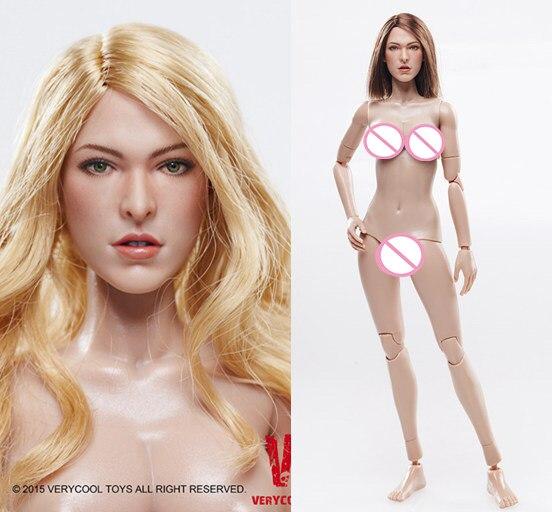 ФОТО 1/6 scale Female figure head shape or body  for 12