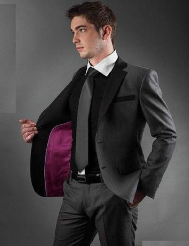 Online Get Cheap Black Grey Suit -Aliexpress.com | Alibaba Group