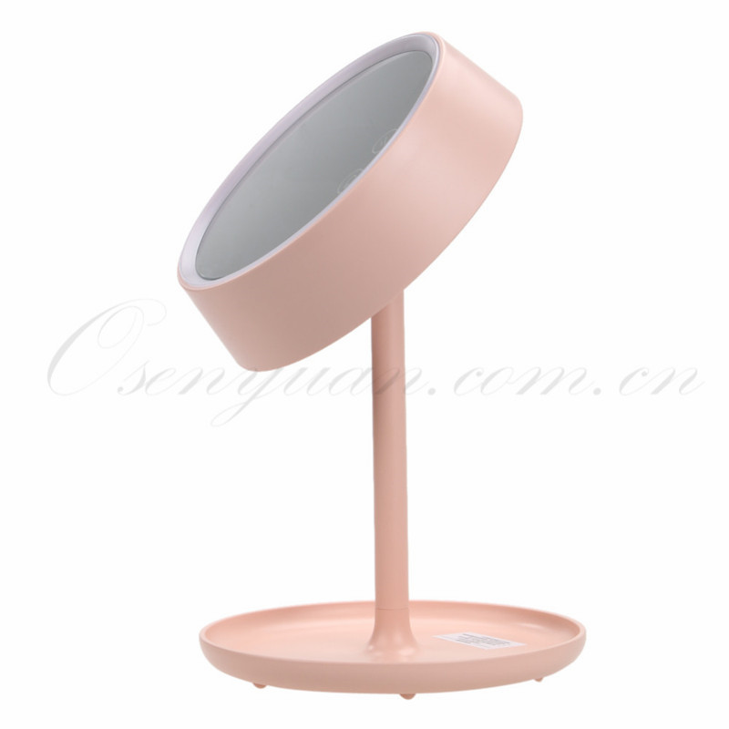 Adjustable LED Light Vanity Desk Stand Mirror Lady Girl Beauty Cosmetic  Round Shape Make upOnline Get Cheap Vanity Mirror Stand  Aliexpress com   Alibaba Group. Mirror On A Stand Vanity. Home Design Ideas