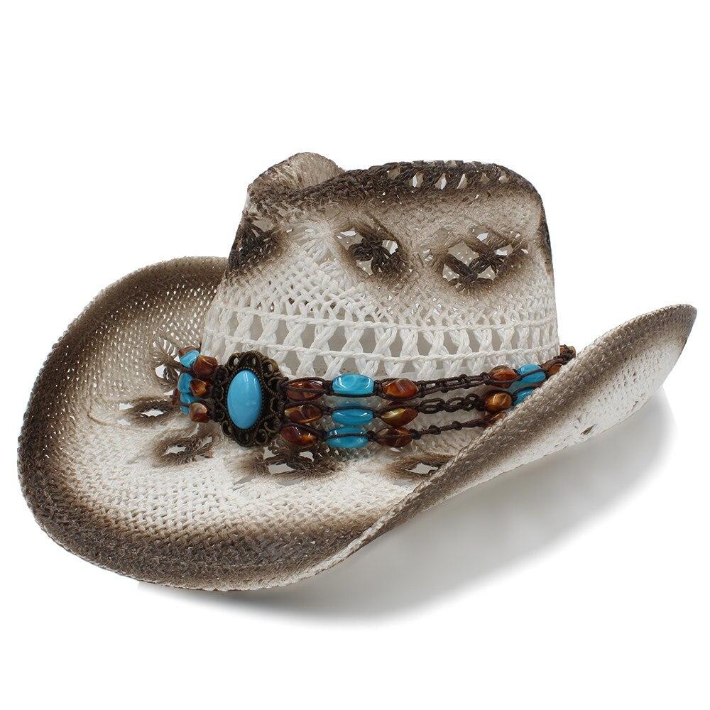 Apparel Accessories Logical 2019 Women Men Sun Sun Hat With Bohemia Band Handmade Weave Beach Sun Sombrero Cowboy Jazz Hat Size 58cm A0112