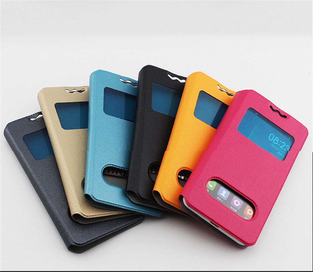 size 40 454ad e117a US $6.25 |For YU Yureka Plus,YU5510, YU5510A Case New Fashion 360 Rotation  Leather Cover1 With Double Window View Mobile Phone Holder on ...